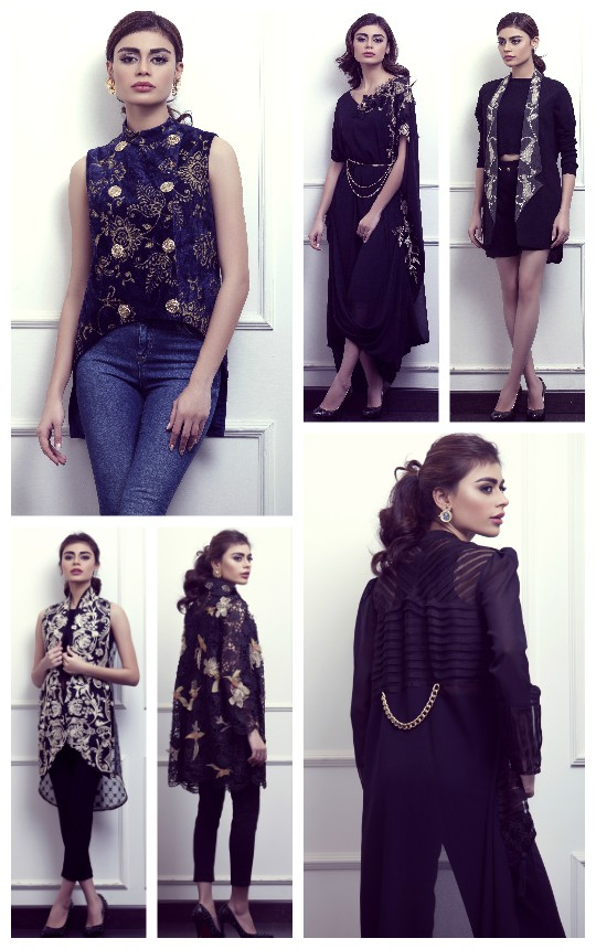 Weekend Obsession: Umaima Mustafa A/W Look Book 'The Art of Layering' !