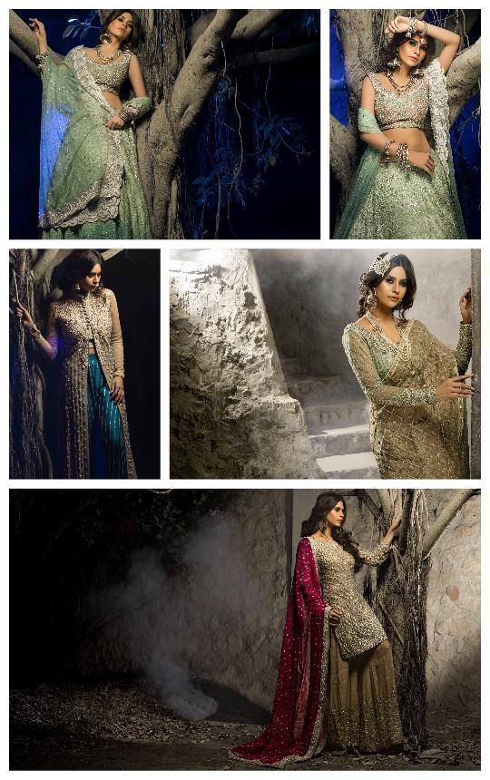 Ready, Set, Shoot: Zainab Chottani Bridal Couture Starlit Campaign!