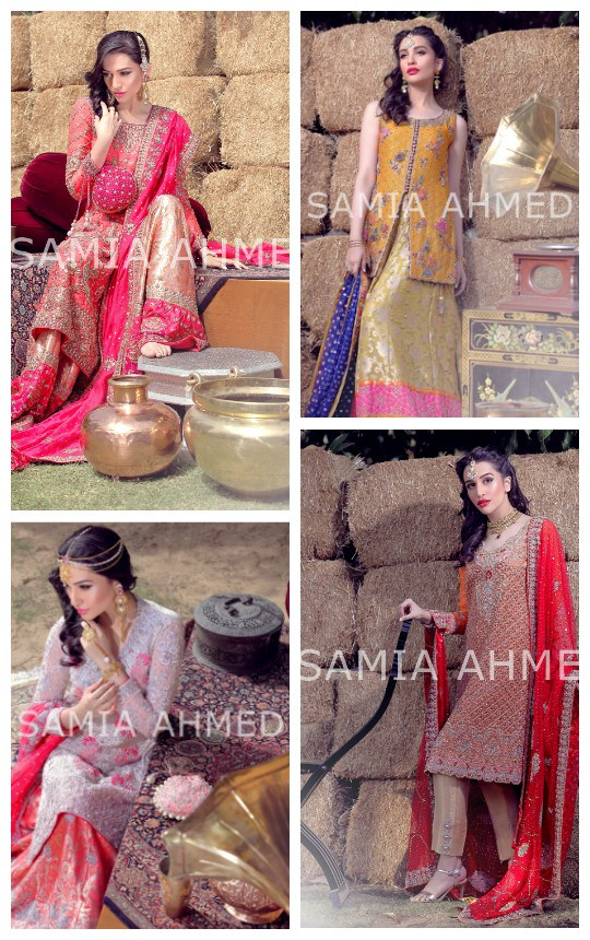 Ready, Set, Shoot: Samia Ahmed Bridal Couture S/S'16!