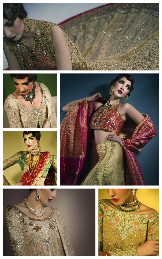 Ready, Set, Shoot: Tena Durrani SS'16 Bridal Campaign!