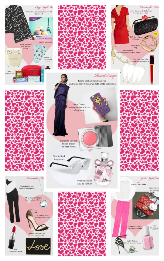 Style Notes: 5 Valentine's Day Looks on Lockdown!