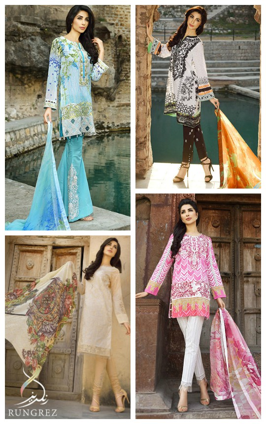 Weekend Obsession: Rungrez Lawn S/S'16 5th March!