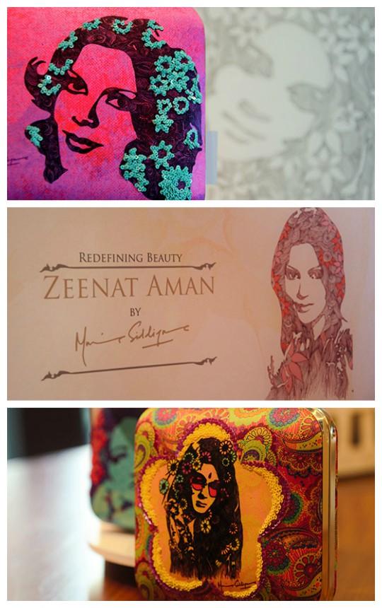 Exhibition Hit List: 'Zeenat Aman' by Mina Siddique Opens 5th March!