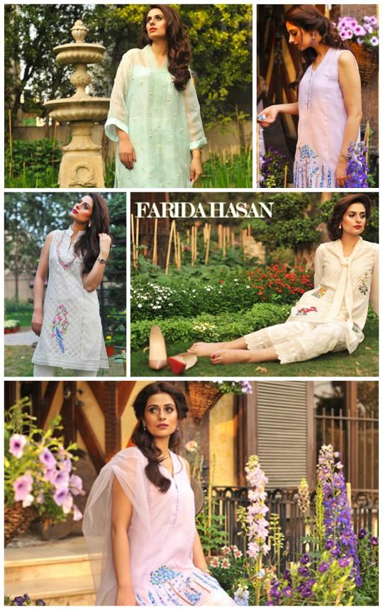 Ready, Set, Shoot!: Farida Hasan's Spring/Summer'16 Open House