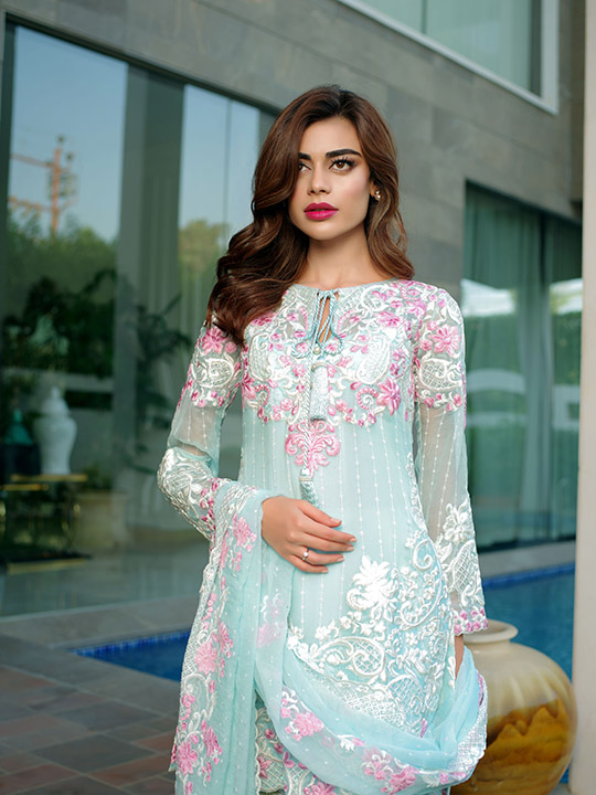 Ready Set Shoot Mina Hasan S Embroidered Fabric Eid