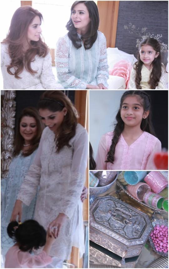 Behind the Scenes!: Nazli Akbar Eid Collection 2016