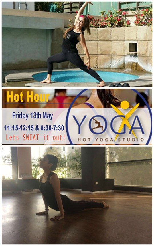 Health & Beauty: YogaX brings you Hot Hour at Pakistan's first hot yoga studio on 13th May!