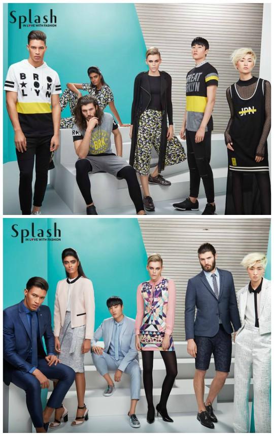 "Ready, set, shoot!: Splash ""Love Unites"" Summer 2016 campaign!"