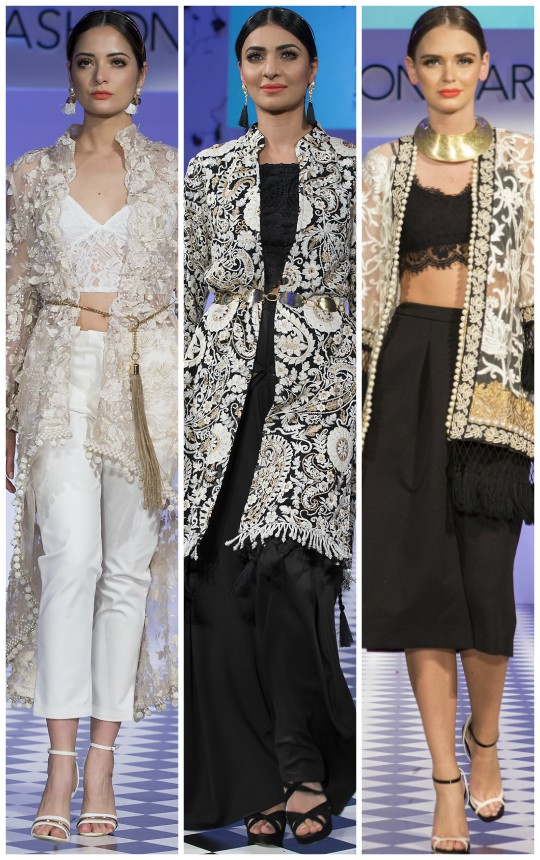 Project Runway: Mehreen Noorani's Pre-Fall'16 collection showcased at Fashion Parade London!