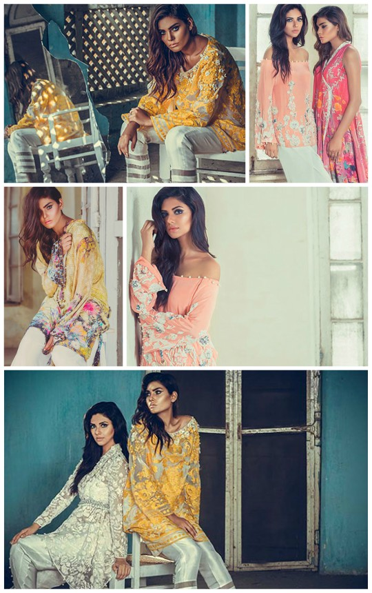 Ready, Set, Shoot: Nida Azwer Atelier Eid Luxury Pret'16