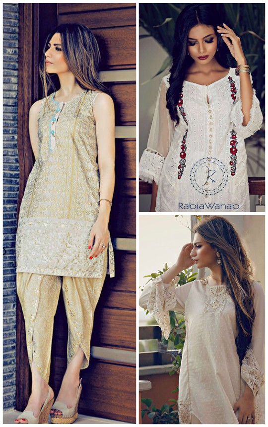 Ready, Set, Shoot!: Rabia Wahab Eid Collection 2016