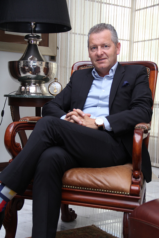 Interview: Patrick P.Hoffman CEO of Ulysse Nardin on style and design ethos!