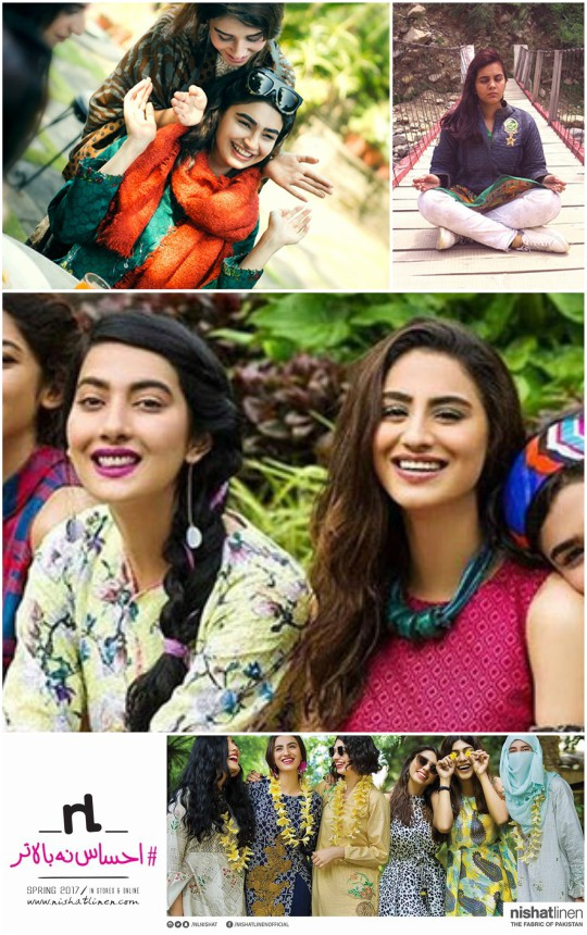 Interviews: The Nishat Girls Give Us The Inside Scoop on Their Latest Campaigns!
