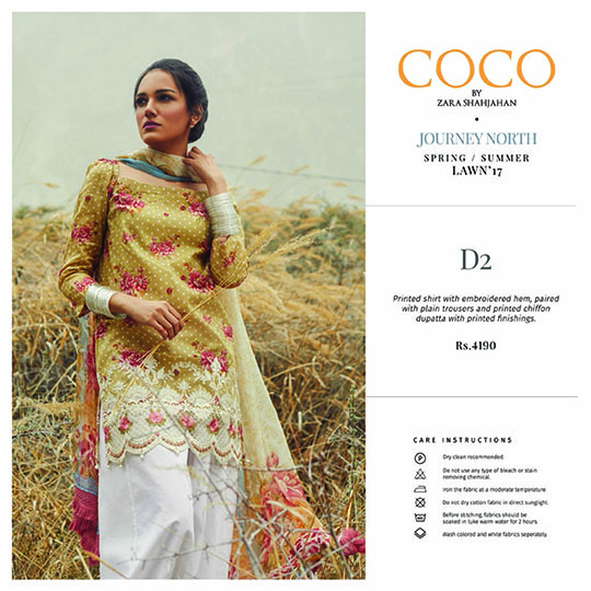 attractive price factory outlet exclusive deals What's In Store: Coco By Zara Shahjahan Spring/Summer'17 Lawn ...