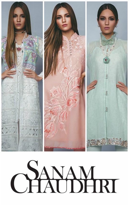 Ready, Set, Shoot! : Sanam Chaudhri's Eid Collection