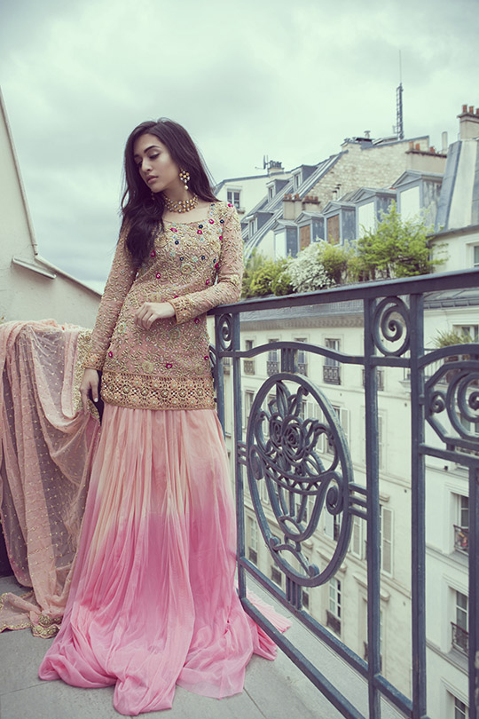 Ready, Set, Shoot: Ansab Jahangir 'An Evening in Paris' Luxury Capsule!