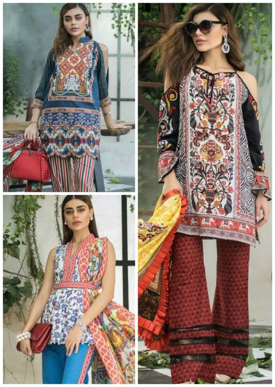 Ready, Set, Shoot! : Maheen Karim Makes Her Lawn Debut!