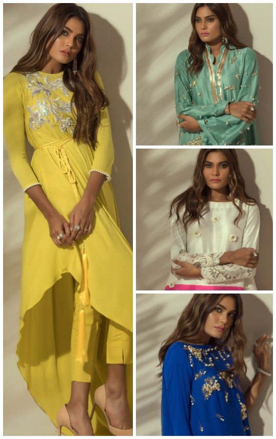 Ready, Set, Shoot! : Rozina Munib's New and Chic Eid Collection!