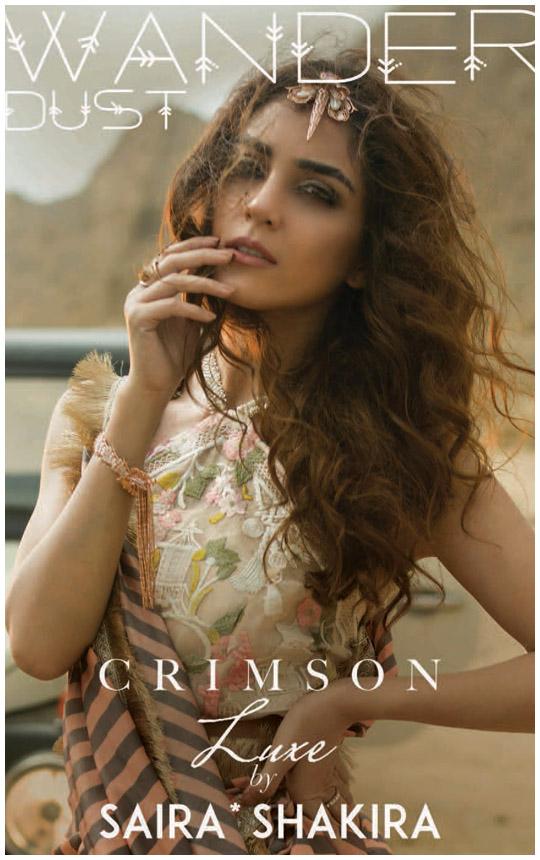 Ready, Set, Shoot! : Crimson Luxe By Saira Shakira 2018!