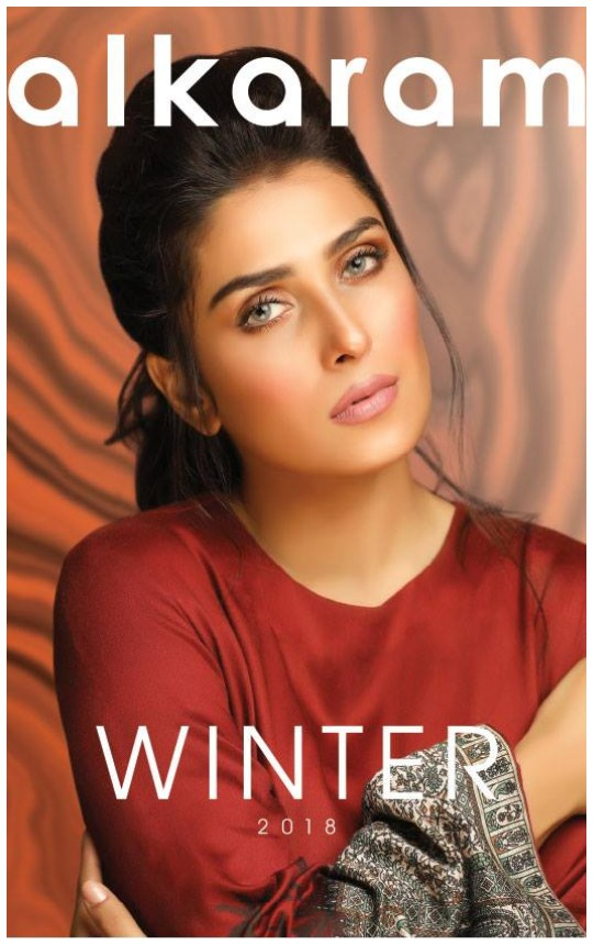 What's In Store: Alkaram Lauches Their Winter Collection Featuring Ayeza Khan!