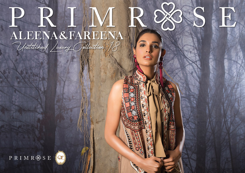What's In Store: Aleena & Fareena's Unstitched Luxury Collection'19!