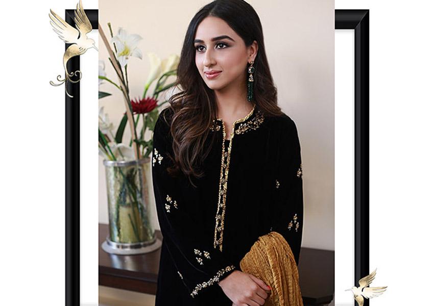 Ready, Set, Shoot!: Amna Arshad's Luxury Velvet's Collection