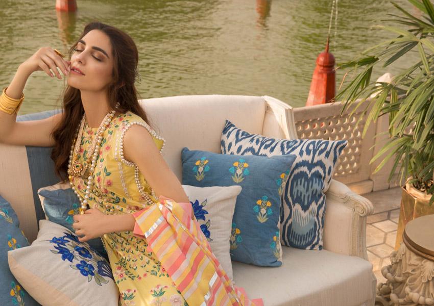 Ready, Set, Shoot!: Why You'll Love Crimson Luxury Lawn'19 By Saira Shakira