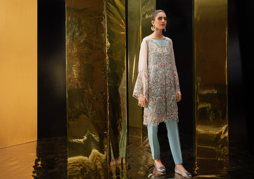 "All about ""Glitz and Glamour"": Fatima Salamat's Pre-Fall Luxury  Collection 2019"
