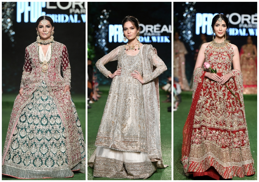 Project Runway!: PFDC L'Oréal Bridal Week Day 1 Designers Hussain Rehar, Nida Azwer and Saira Shakira Shine!