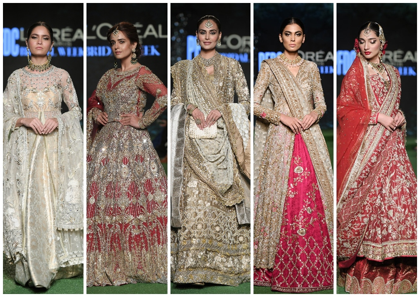 Project Runway: PFDC L'Oréal Bridal Week Day 2 Top Picks- Misha Lakhani, Mahgul, Sania Maskatiya, Saira Rizwan, Kamiar Rokni Shine!