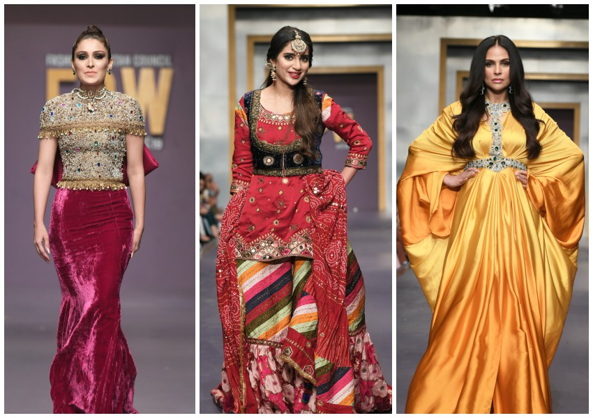 Project Runway!: FPW Day 1 Brings Out The Innovation with AlKaram, Boheme By Kanwal and Ayesha Farook Hashwani!