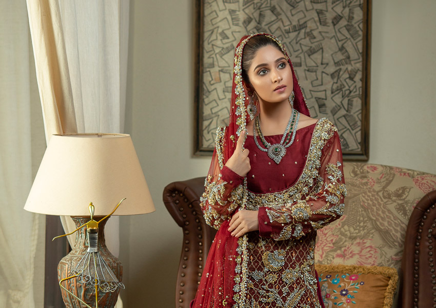 Ready, Set, Shoot!: Nida Ali's Dreamy Bridals Steal Our Hearts!