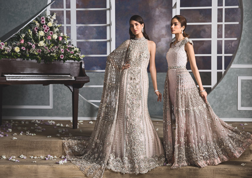 "Ready, Set, Shoot!: Dreamy Bridals from Anaya By Kiran Chaudhry's ""la vie en rose"" Collection Hits All The Right Notes!"
