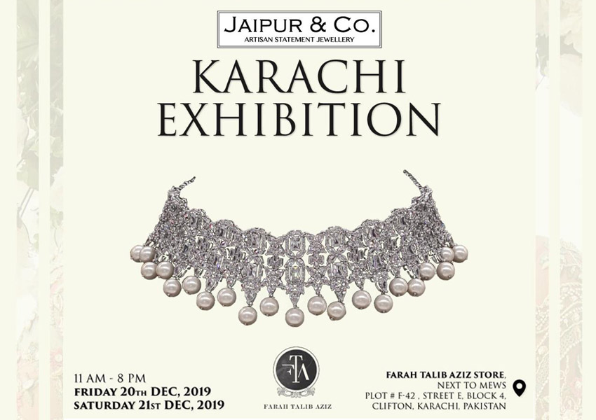 Exhibition Hit List: Sneak Peek Look At Jaipur & Co's Upcoming Karachi Exhibition!