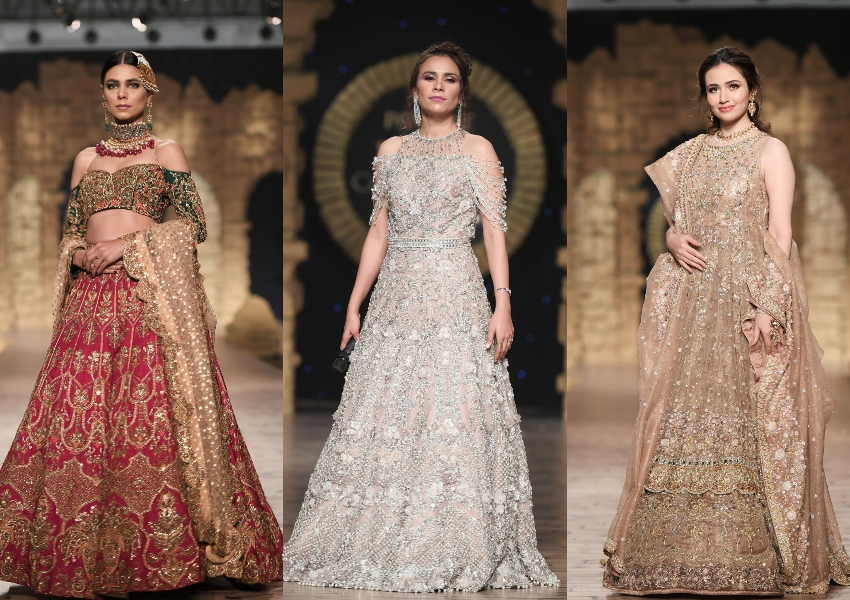 Project Runway: PHBCW Top Picks- Shamsha Hashwani, Umsha By Uzma Babar and Anaya By Kiran Chaudhry