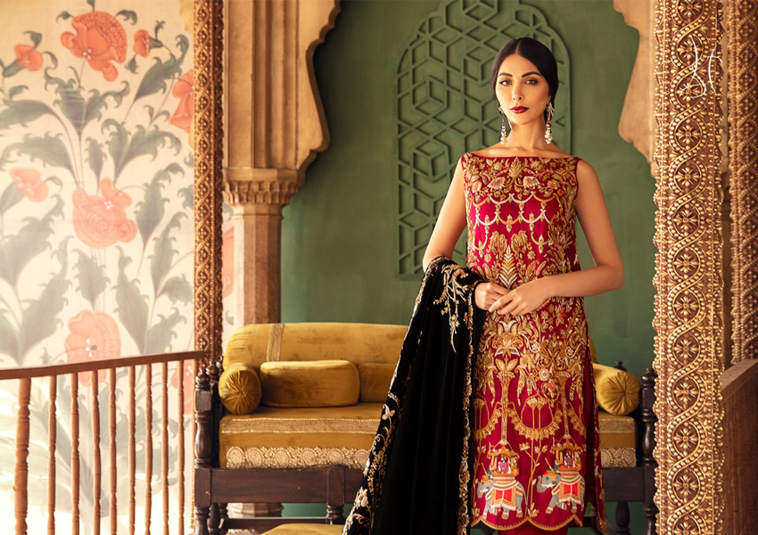 "Ready, Set, Shoot: Shamsha Hashwani Presents Her Latest Wedding Wear Collection ""Diwan-i-Khas"""