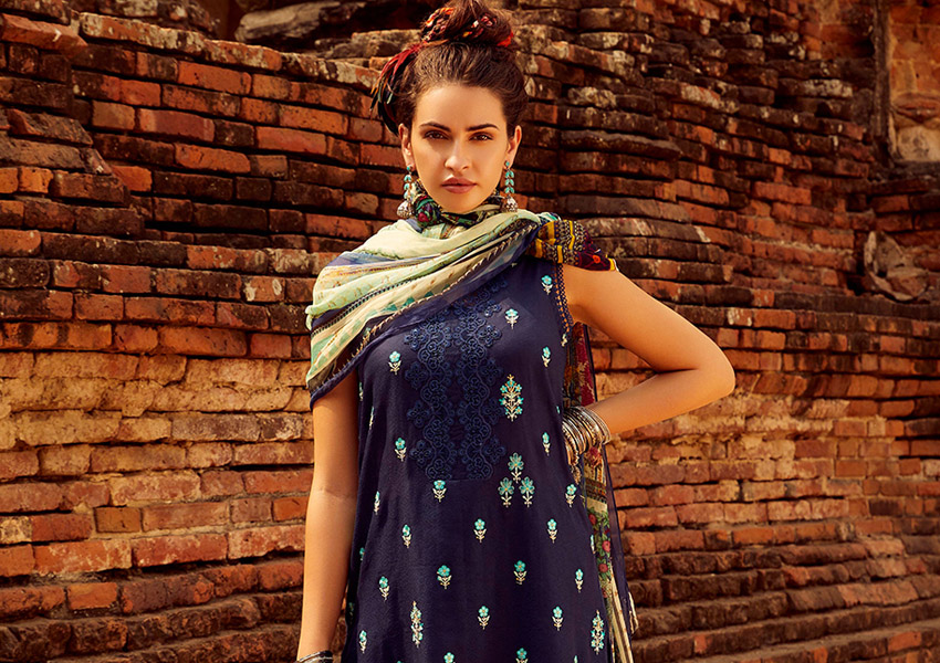 Ready, Set, Shoot!: Image Is Set To Launch Their Fresh New Unstitched Chikankari Collection Just In Time For The Summer!