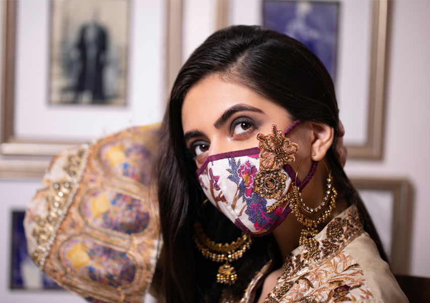 Style Notes!: Shamaeel Ansari Face Masks Come Out!