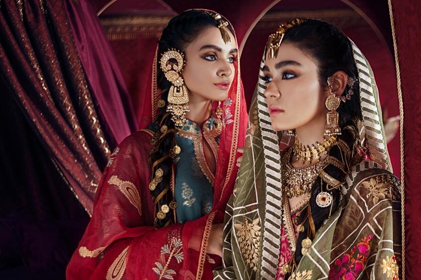 Cross Stitch Luxury Festive Razia Sultana Collection Hits SC EStore!