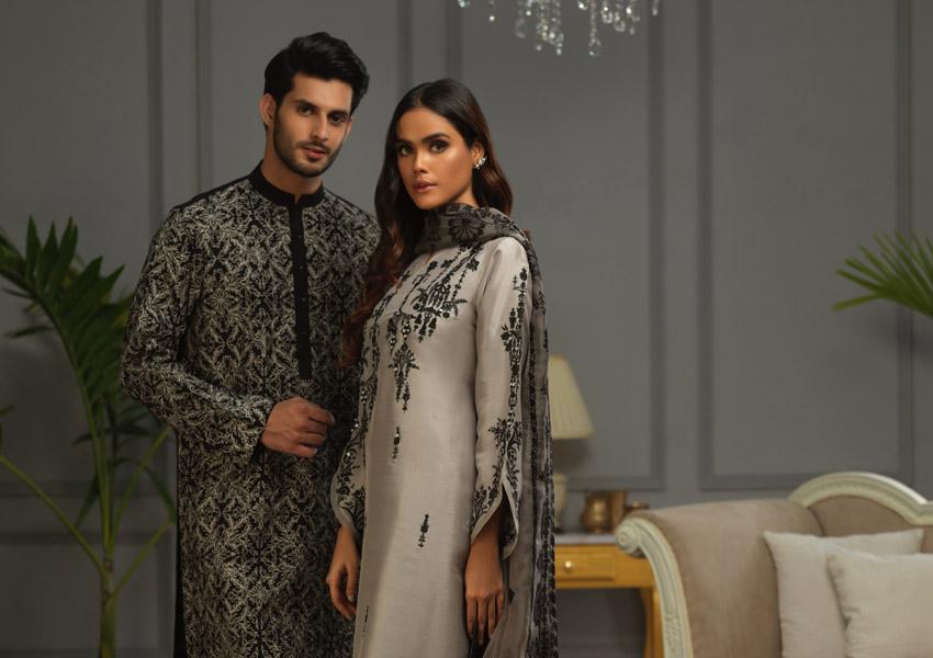 "What's In Store: Shamsha Hashwani Presents ""Gul O Bulbul"" Luxury Pret Just In Time For Eid!"