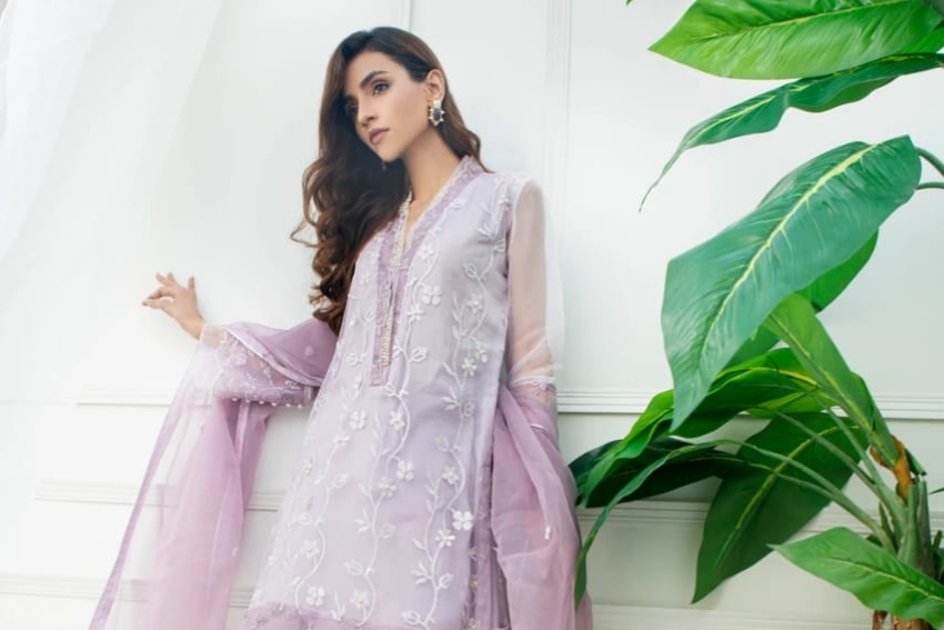 Style Notes! Shimmer & Shine in Shireen Lakdawala Pretty Eid Pastels!