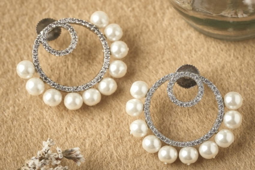 Ready, Set, Shoot!: Bejeweled For Any Occasion With Allure By MHT's 'Pearlesque' Collection!