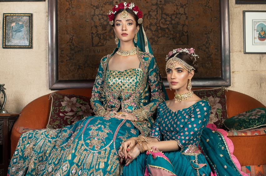 "Ready, Set, Shoot!: Shiza Hasan's ""Dahlia"" Collection Has You Sorted This Wedding Season!"