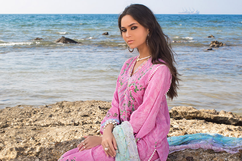 24 hours left for the Exclusive Online Launch of Gul Ahmed Lawn'21