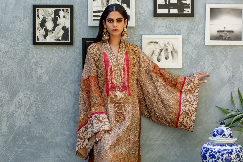 What's In Store: 'Saaz' By Shamaeel Ansari, An Ode to Heritage Couture!