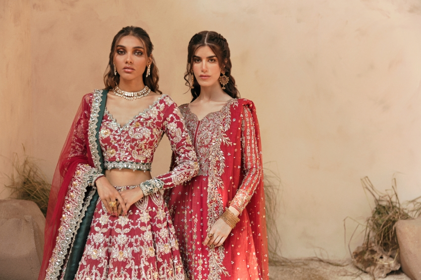 """Ready, Set, Shoot!: Zubia Zainab Present Their Debut Demi Couture Collection """"Asteria"""""""