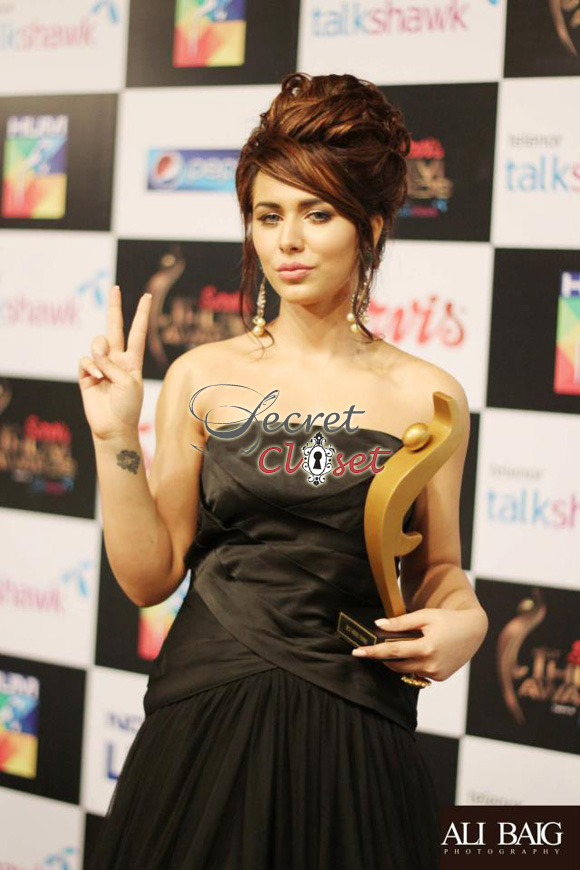 Fauzia Aman & Ayyan Spotted at the HUM Awards 2013! | Latest