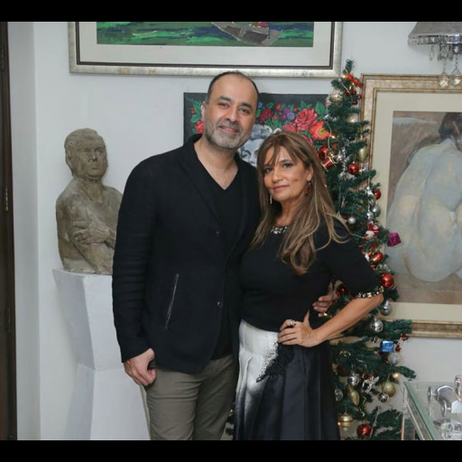 Deepak Perwani and Frieha Altaf