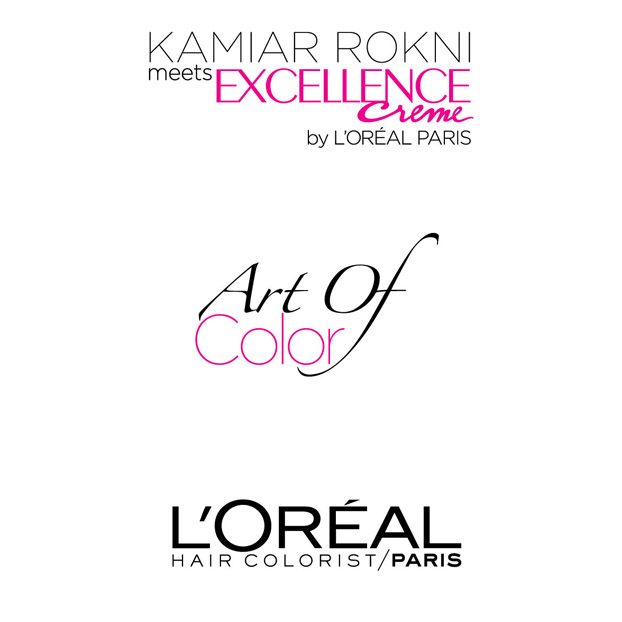 Kamiar Rokni 'Ambassador of Fashion' meets Excellence Creme by L'Oréal Paris for the ‪Art of Color Campaign