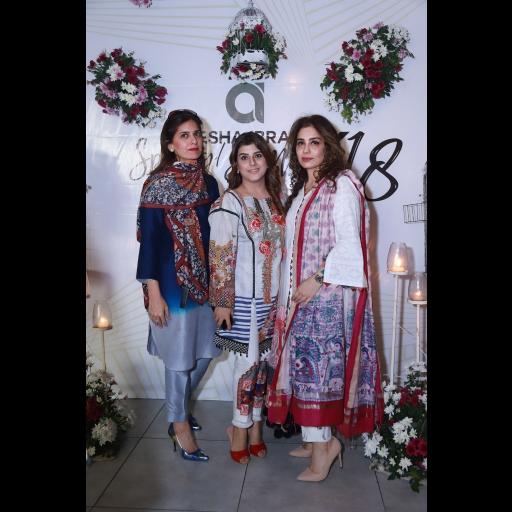 Amber, Ayesha, Saman